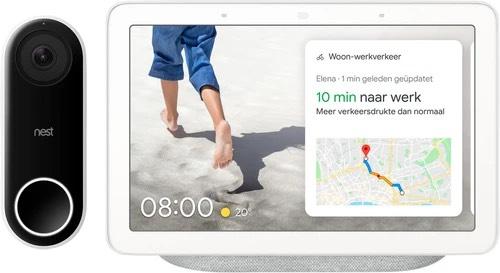Google Nest Hello + Hub