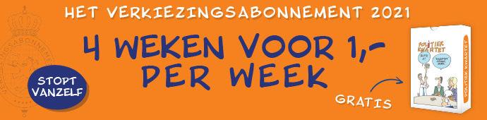 4 weken krant voor 1€ per week