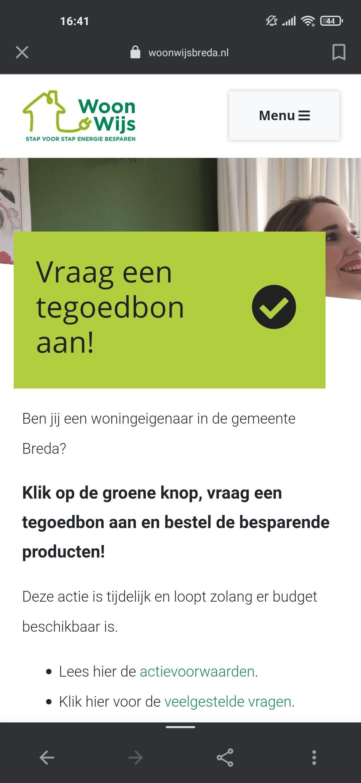 (lokaal, Breda) Gratis tegoedbon duurzame producten