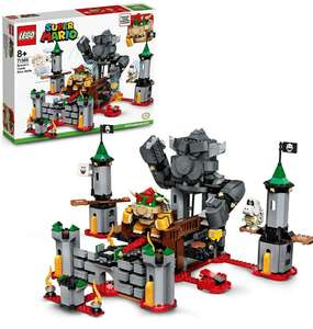 Lego Uitbreidingsset: Eindbaasgevecht op Bowsers kasteel (71369)