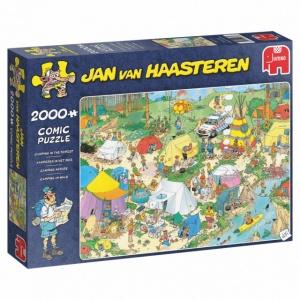 Jumbo legpuzzel Jan van Haasteren Kamperen in het Bos 2000 st.