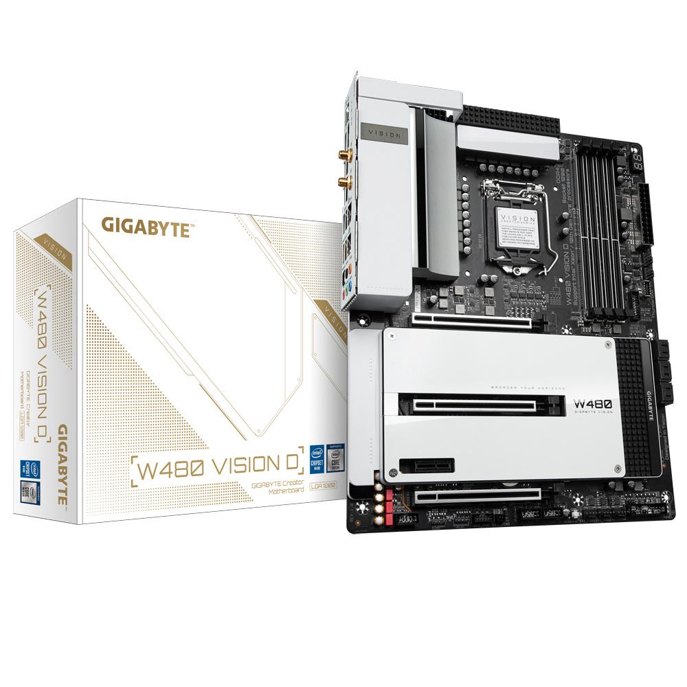 Gigabyte W480 VISION D. LGA 1200