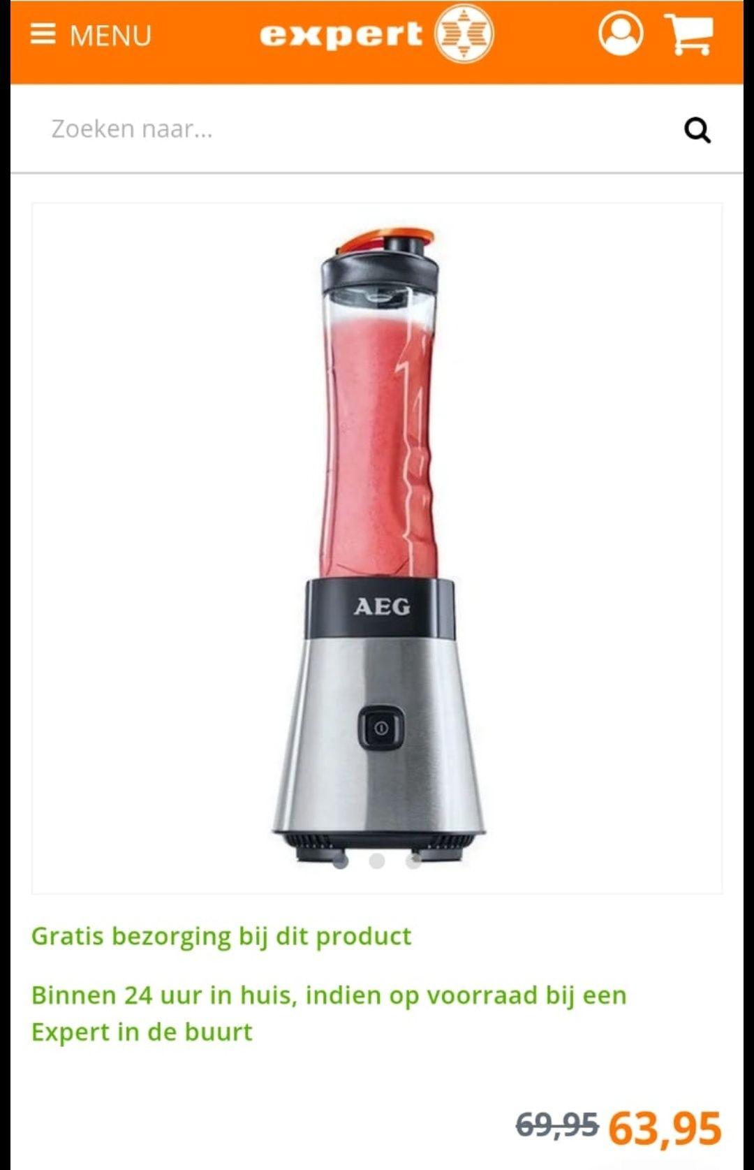 AEG - SB 2700 - (Smoothie) Blender