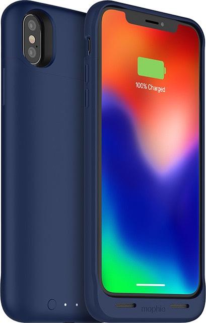 Mophie 'Juice Pack Air' powerbank voor iPhone X blauw