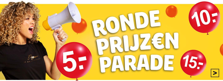 Kids + dames schoenen €10 - en veel meer ronde prijzen