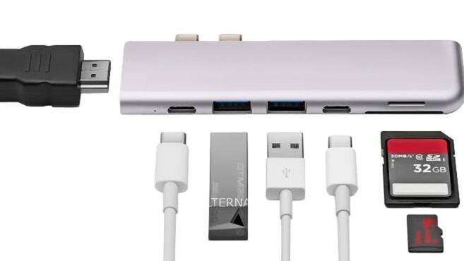 Minix NEO USB-C Multiport Adapter voor Macbook Pro bij Alternate