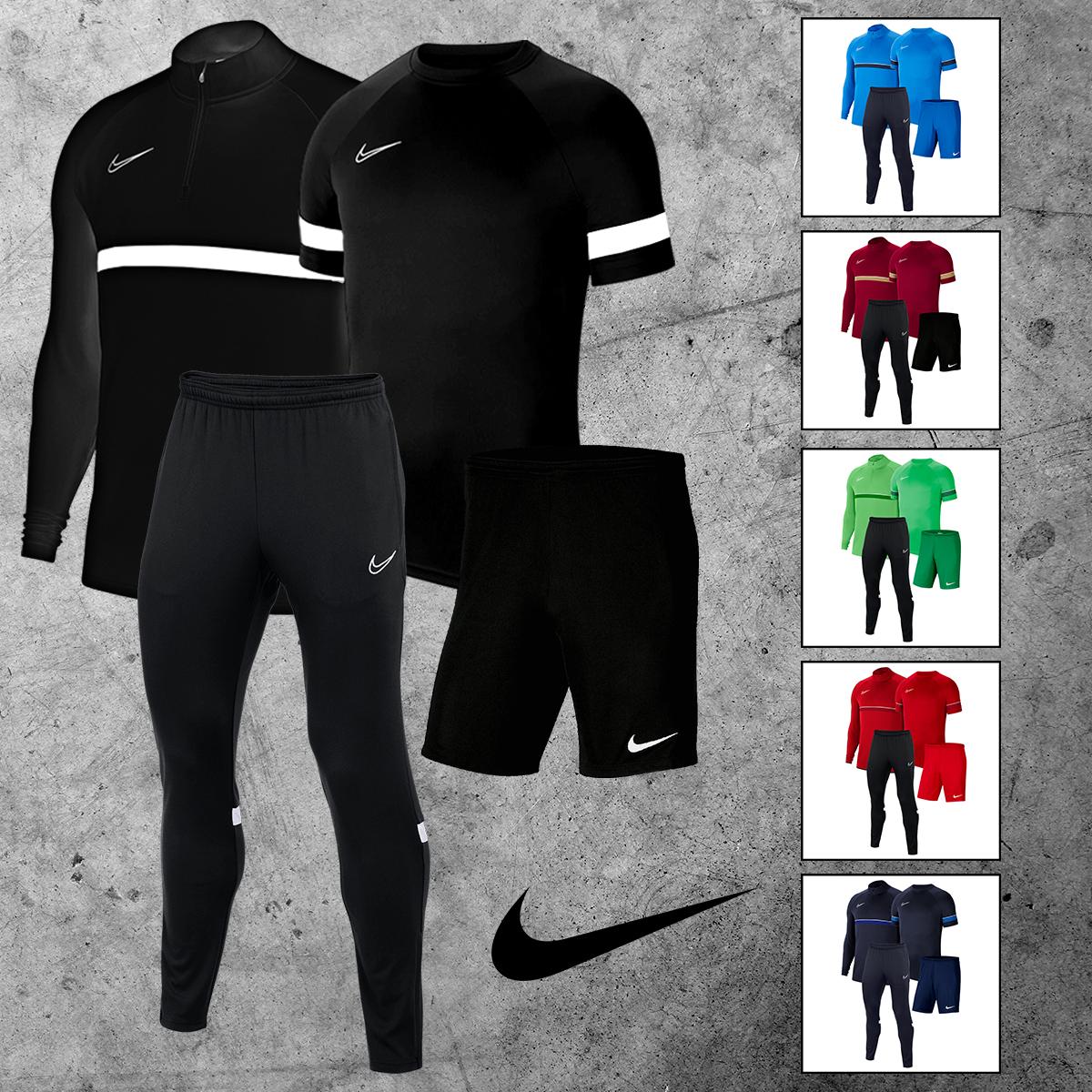 Nike Academy 21: 4-delige trainingsset [Mix & Match]
