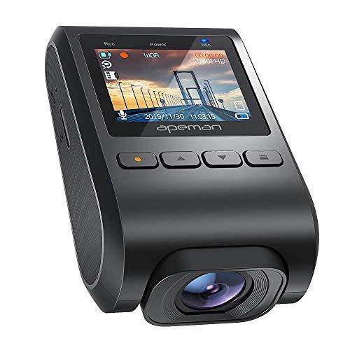 Apeman C370 dashcam 1080P HD camera en 170 graden kijkhoek