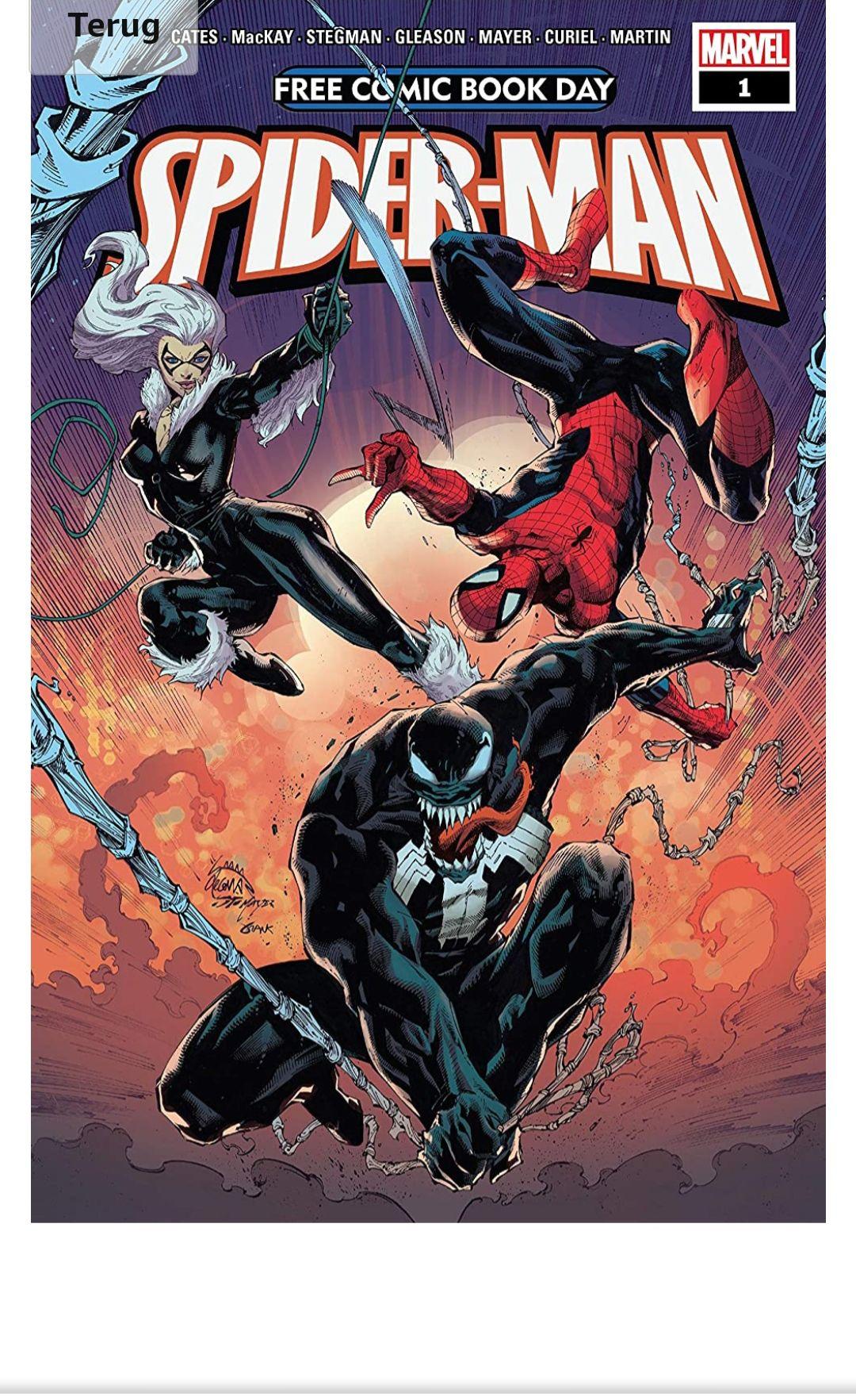 Gratis e-books van Marvel