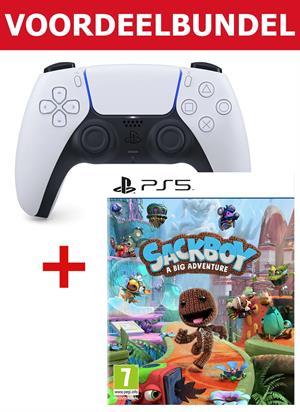PS5 DualSense controller + Sackboy - A Big Adventure