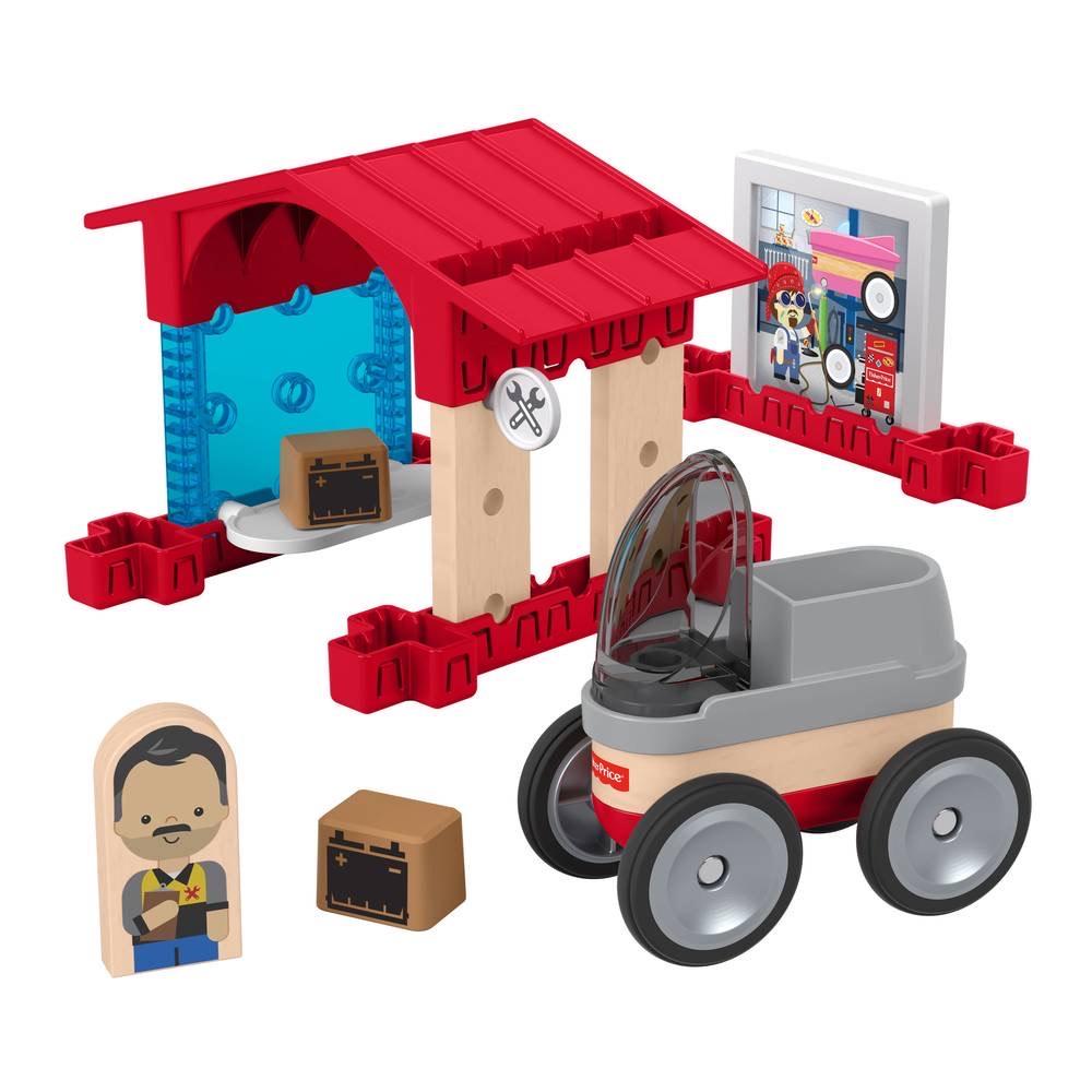 Fisher-Price Wonder Makers Houten Garage [+3 andere sets] @ Amazon NL & Intertoys