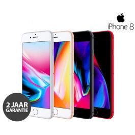 Apple iPhone 8 64GB met GRATIS Hoesje + Tempered Glass (Refurbished)