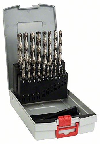 Bosch Professional 19-delige HSS-G metaalborenset