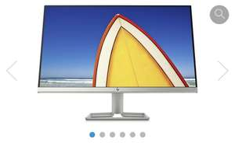 (ING) HP monitor 24f + gratis muis voor 100€