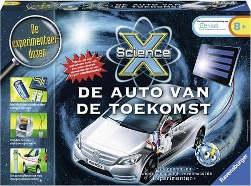 Ravensburger ScienceX® De auto van de toekomst