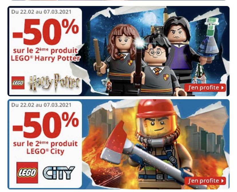 2e Lego artikel 50% Harry Potter en Lego CityBoy