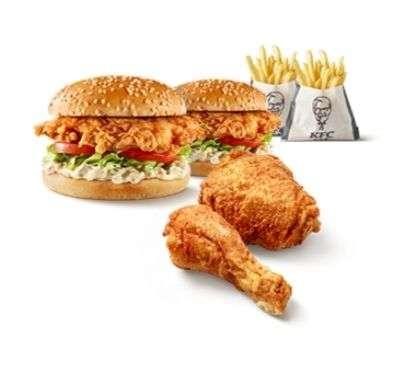 2e Burger Meal (bijna) gratis en andere aanbiedingen @ KFC