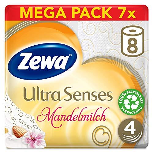 Zewa Toiletpapier Ultra Senses reuzenverpakking 4 laags (56 rollen) @ Amazon.de