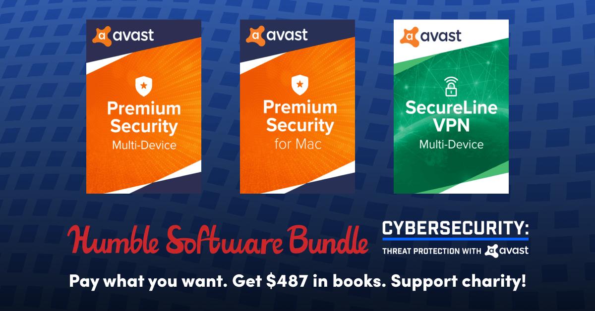 Avast cybersecurity bundle, met o.a. secureline vpn - Humble Bundle