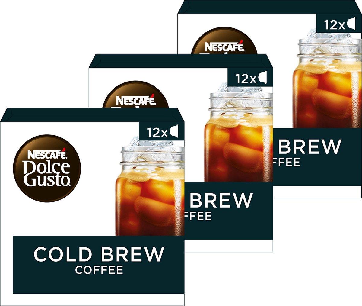 Dolce gusto cold brew 3 dozen