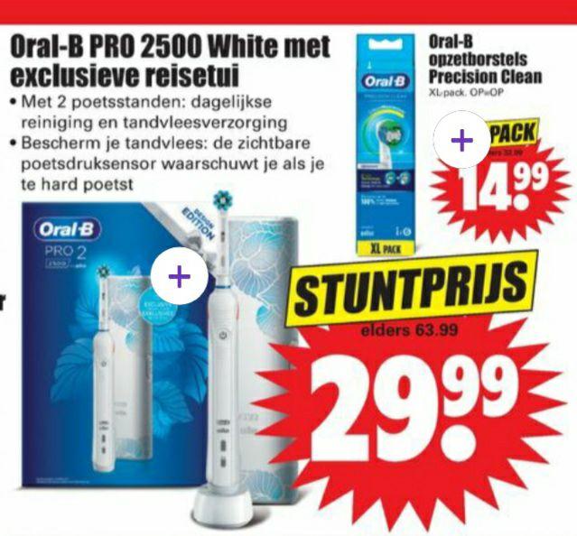 Dirk - Oral B Pro 2500 tandenborstel