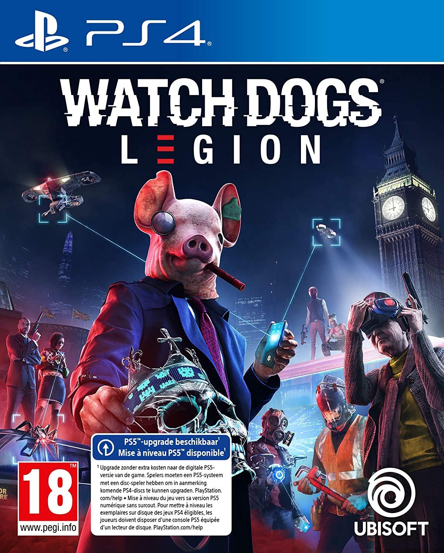 Watch Dogs Legion - Standard Edition - Playstation 4 en XBOX one/x (PS5 editie 34.95)