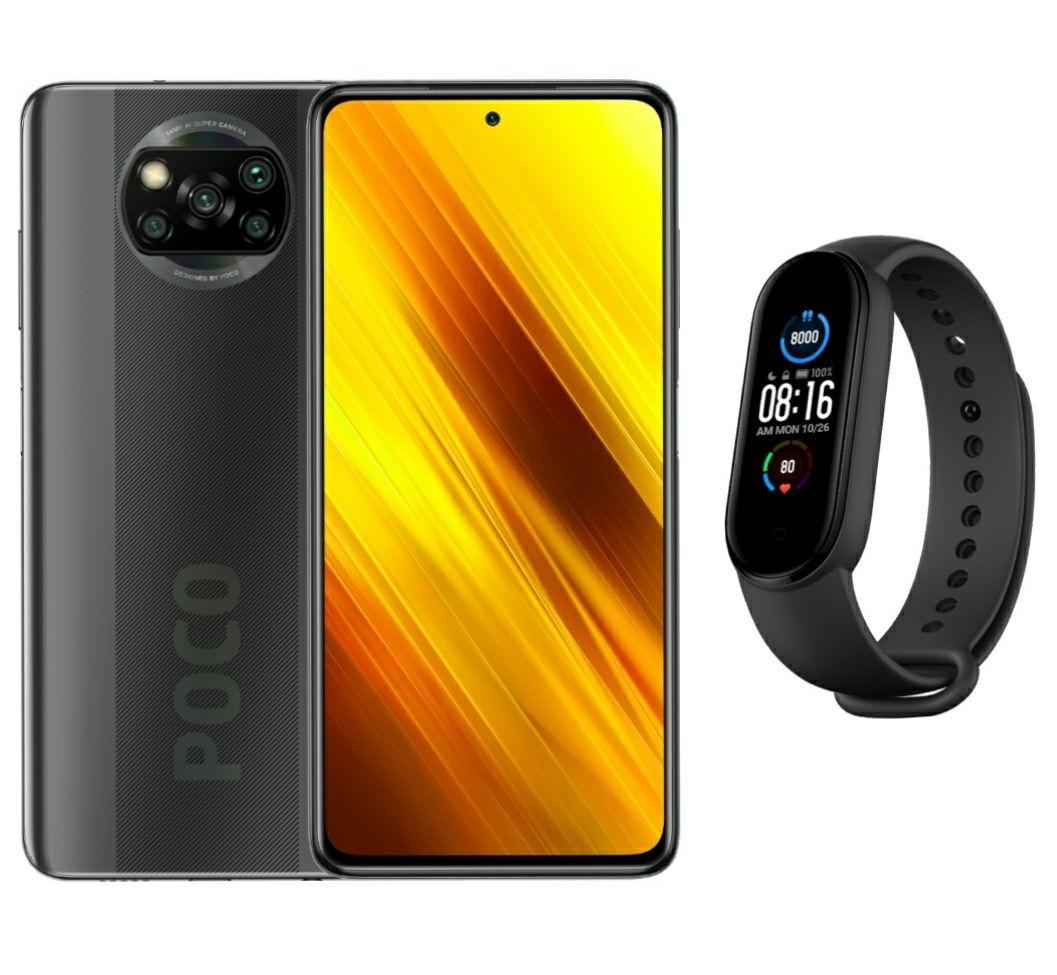 Xiaomi Poco X3 6GB/128GB + Mi Band 5 @mi.com/NL