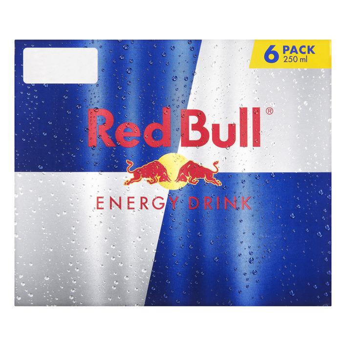 2x6pack Red Bull voor €10,- @Nettorama