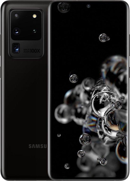 Samsung Galaxy S20 Ultra 5G (12GB intern) 128GB Zwart
