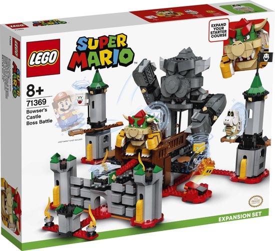 [Dagdeal] LEGO Super Mario uitbreidingsset: Eindgevecht op Bowsers kasteel (71369) @ Bol.com