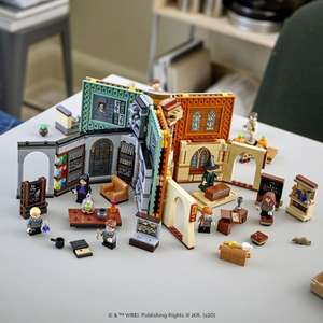 LEGO 76383 & 76385 Harry Potter Hogwarts Moment (UPDATE: nu ook de 76384)