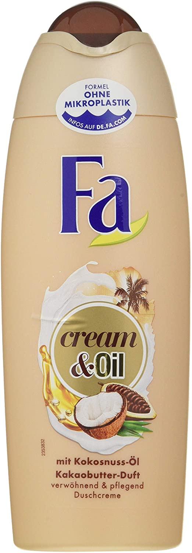 Fa Cream & Oil Douchegel, Verpakking van 6 X 250 ML