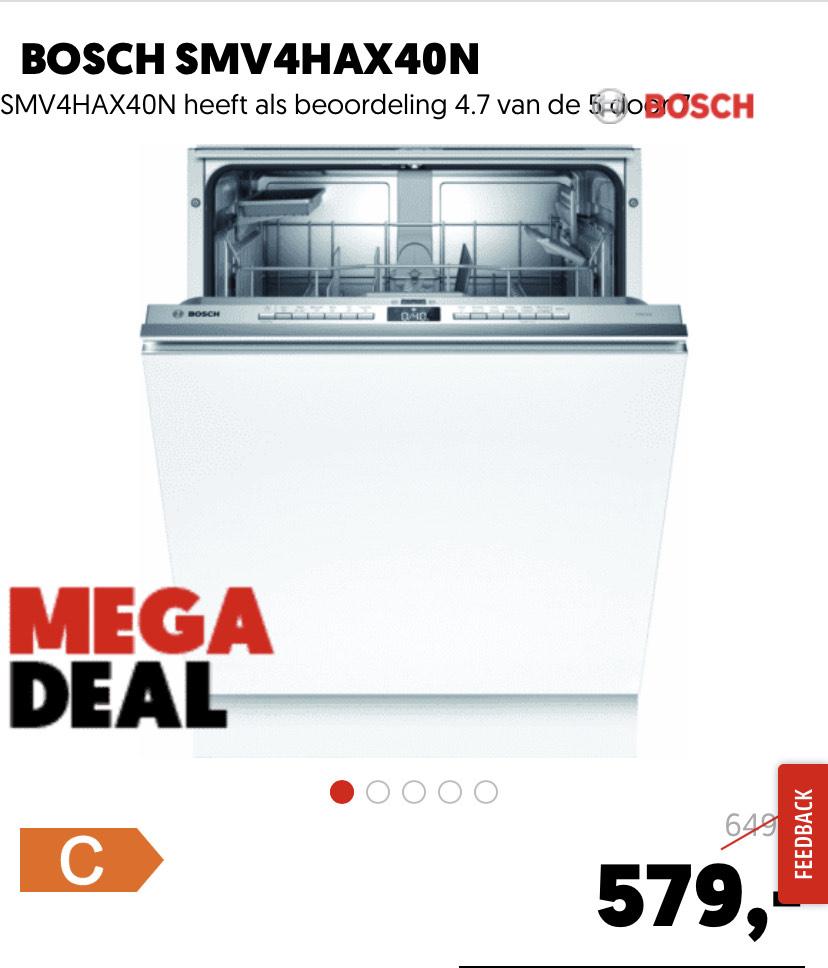 Bosch SMV4HAX40N vaatwasser