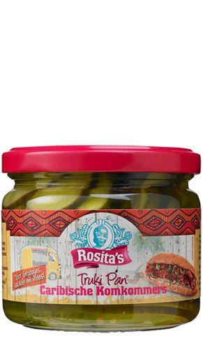 Rosita's Truki Pan Caribische Komkommerschijfjes 3 potjes voor €1 @ Die Grenze