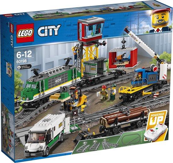 LEGO 60198 City Treinen Vrachttrein