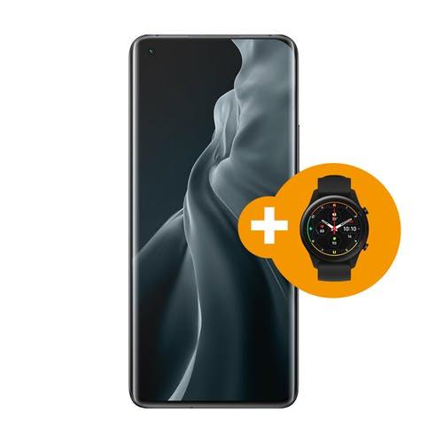 Xiaomi Mi 11 256GB + Mi watch i.c.m. Vodafone abonnement