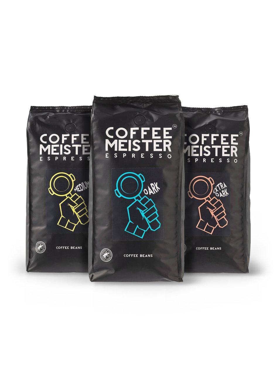 15% korting bij Coffeemeister.nl op proefpakket + gratis vershoudclip óf 15% korting bij minimale besteding van €45 + gratis vershoudclip