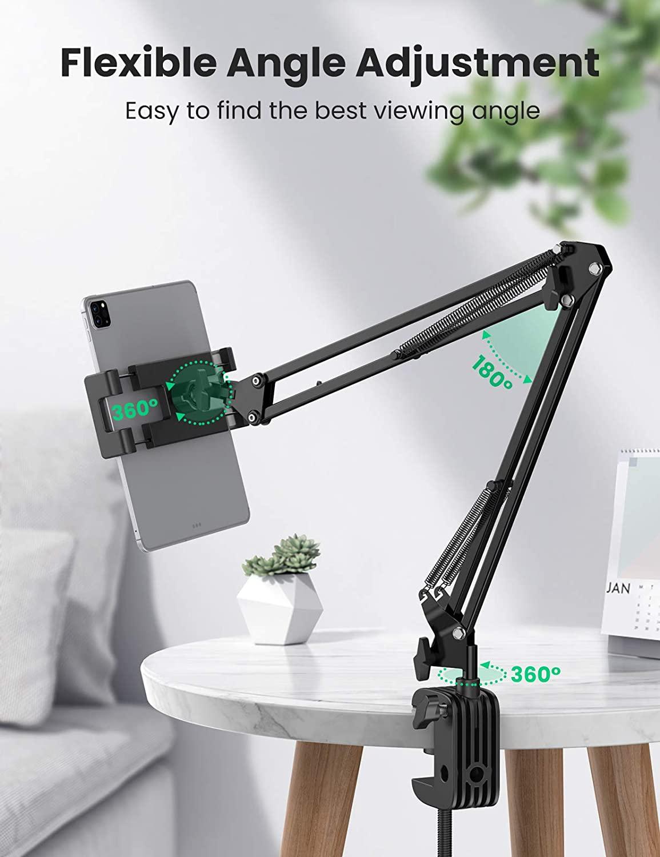 UGREEN telefoonhouder / tablethouder met verstelbare arm 360° voor €19,99 @ Amazon NL