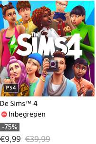 EA Sims 4 ps4 @ playstation store