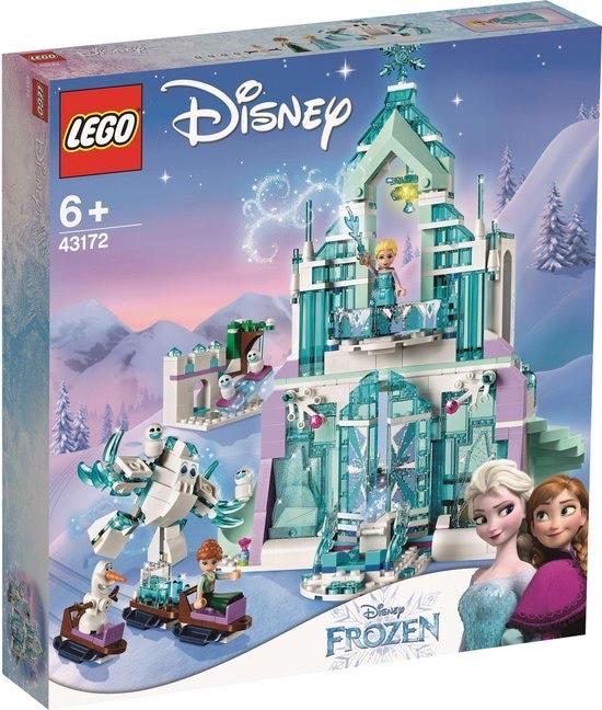 LEGO Disney Frozen Elsa's magische ijspaleis 43172 @ Amazon NL