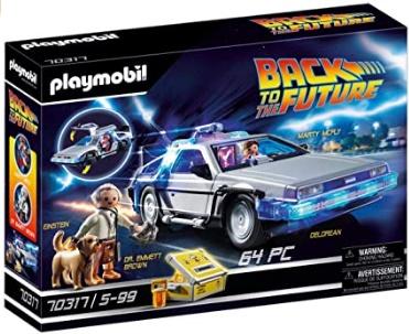 Playmobil Back to the Future 70317 DeLorean met lichteffecten @ Amazon.nl