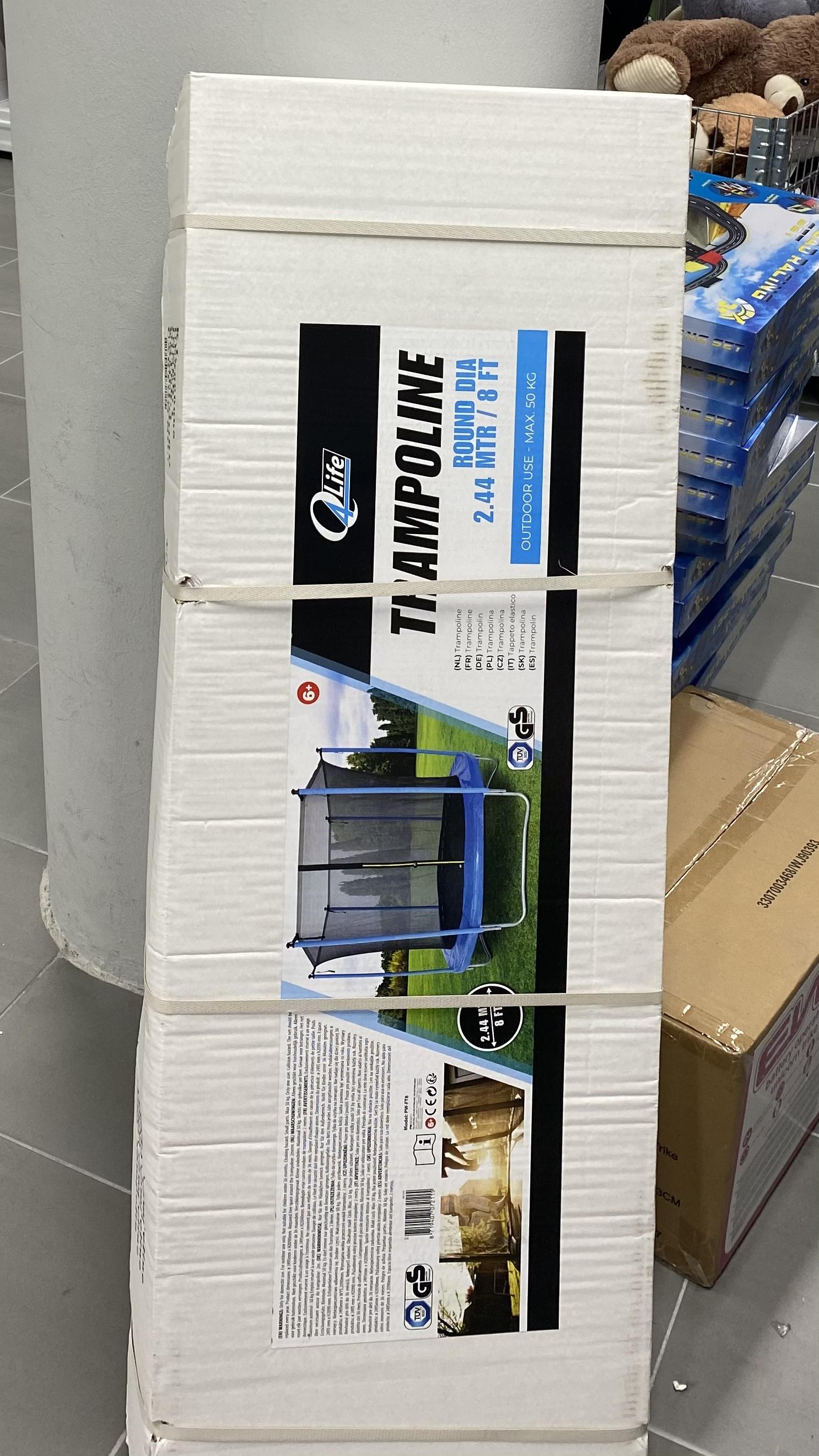 Trampoline action 244cm