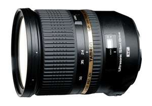 Tamron Wide angle lens 24-70 mm F/2.8 with image stabilizer, USD motor for Nikon