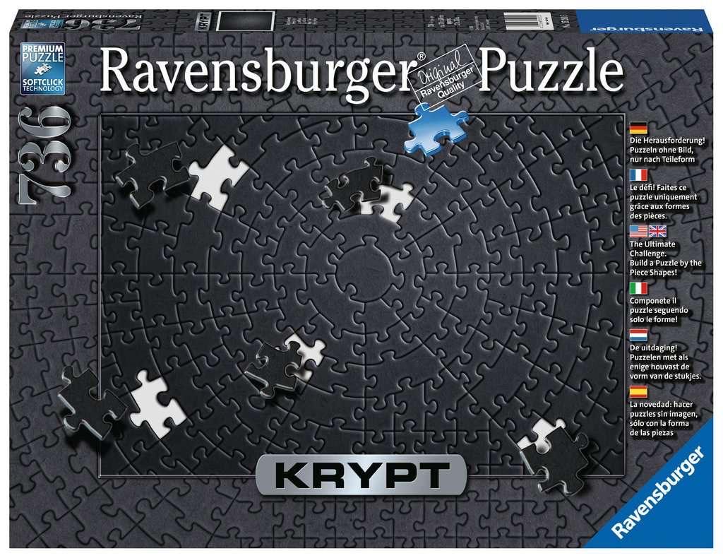 Ravensburger Krypt puzzel Black [+ 2 andere puzzels] @ Amazon NL