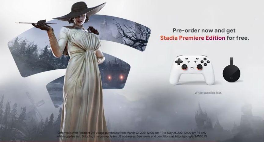 Resident Evil - Village + Gratis Stadia Premiere Editie
