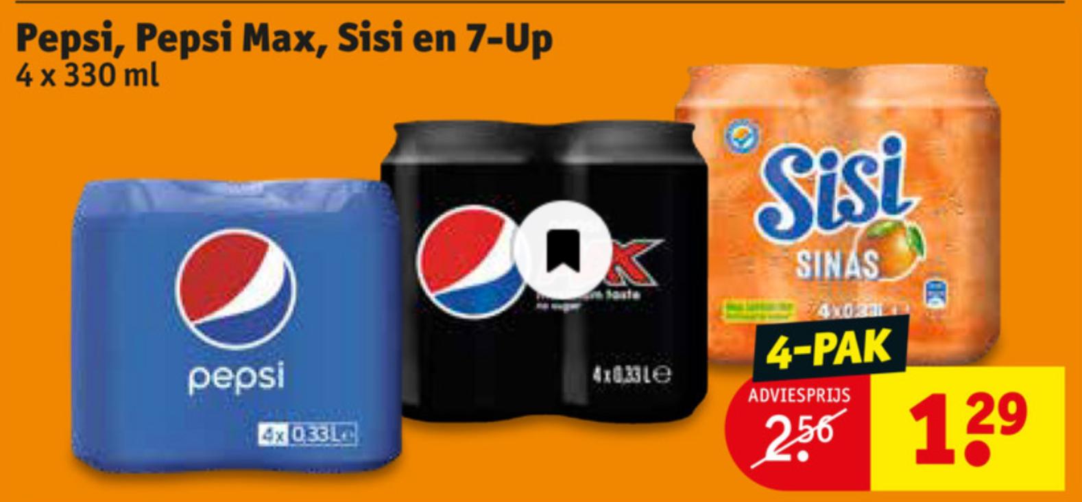 4 blikken Pepsi of Sisi