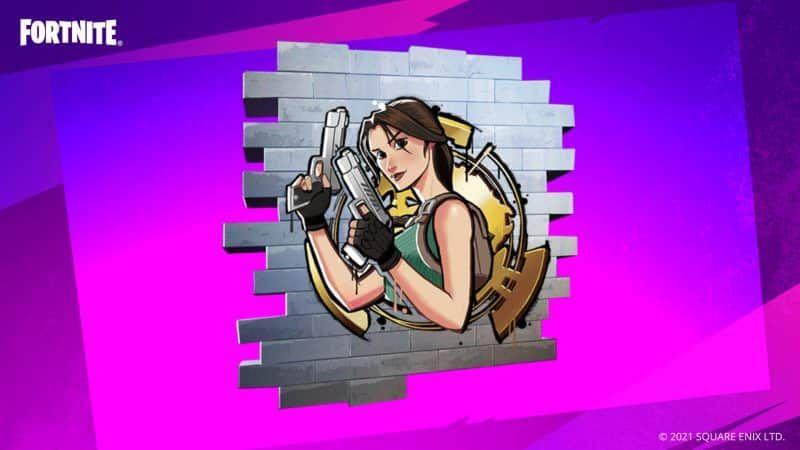 [Gratis] Fortnite - Tomb Raider Grafiti Code (spray)