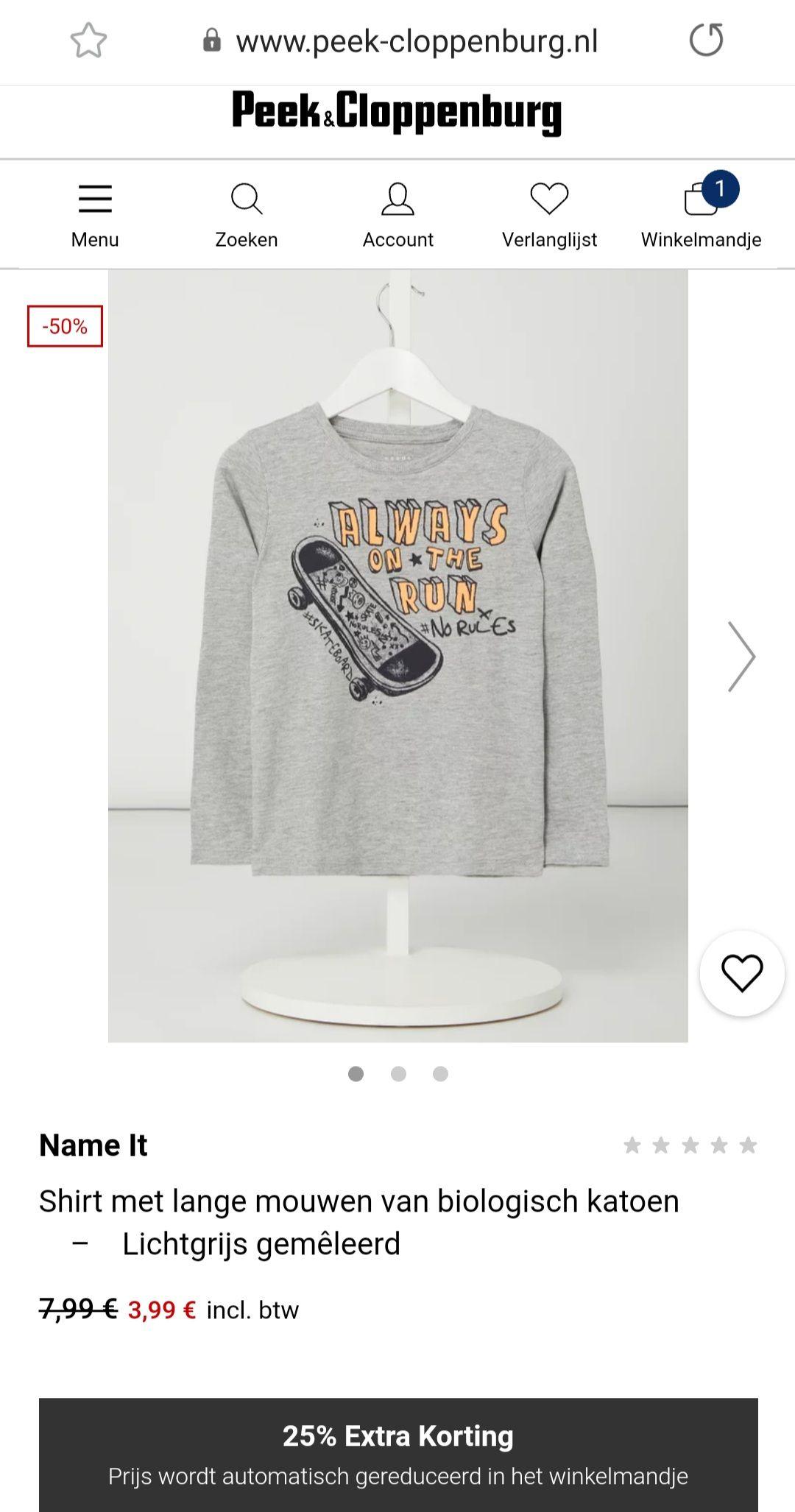 Name It jongens shirt