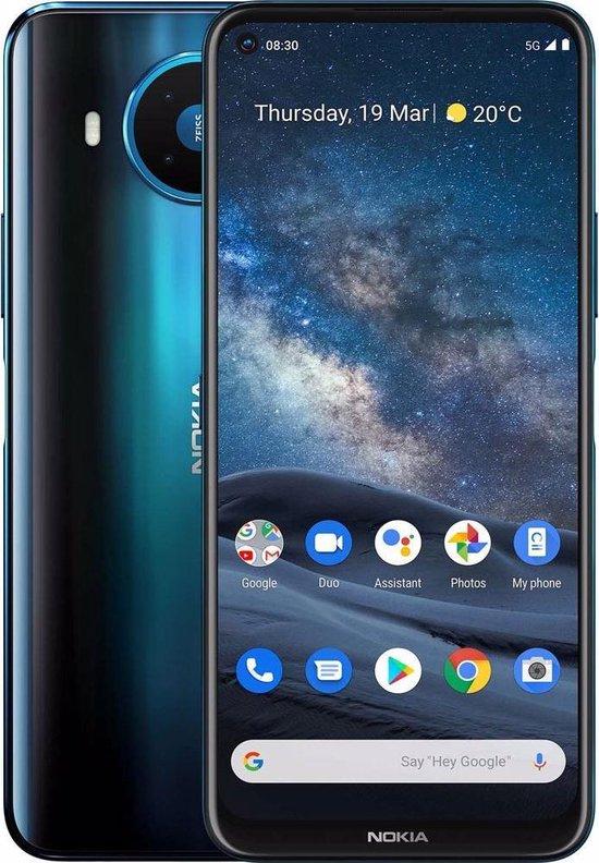 Nokia 8.3 - 5G - 8GB/128GB - Blauw @ BOL