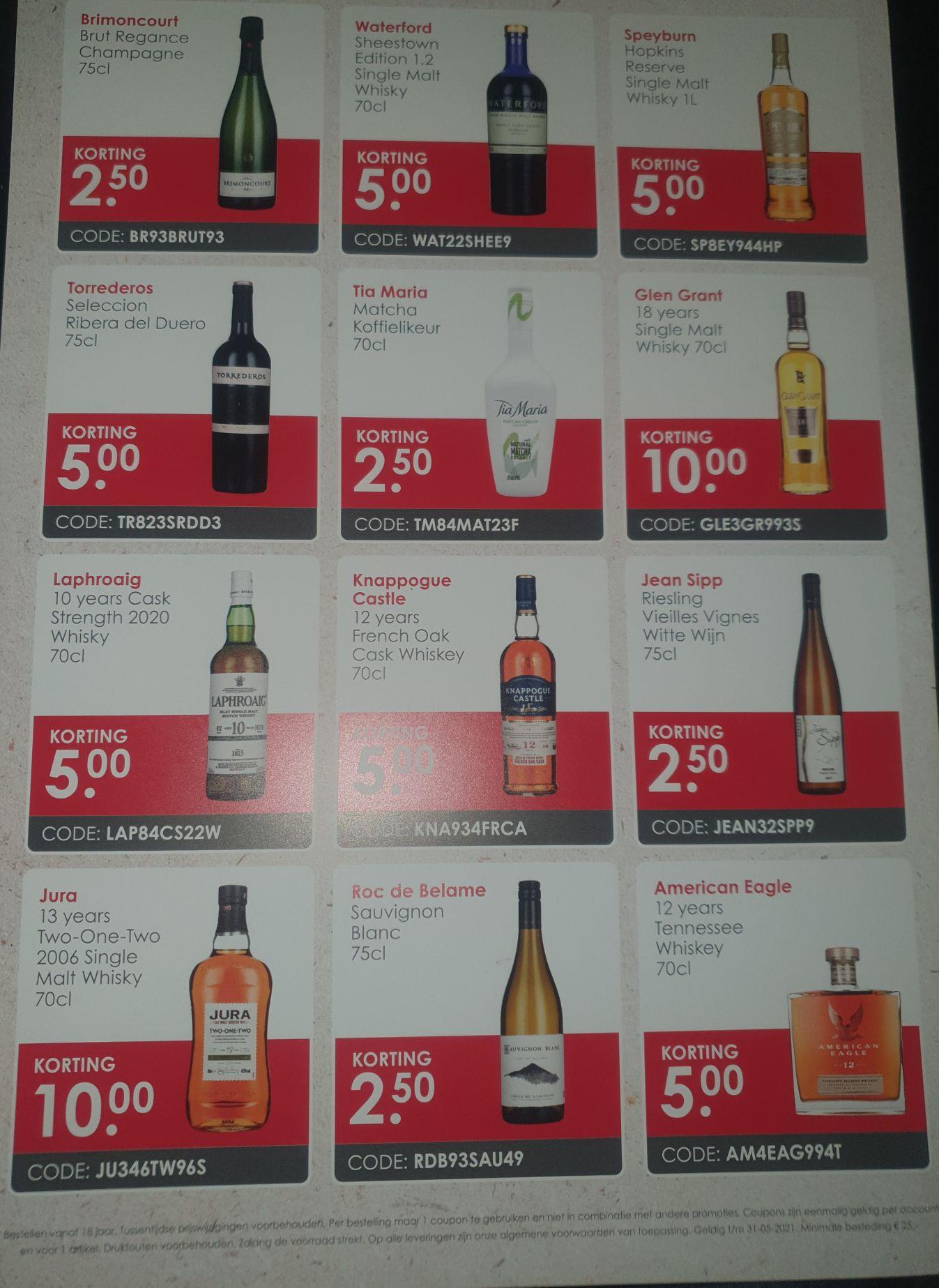 DrankDozijn Kortingscodes (va. 25 EUR t/m 31-05)